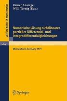 Numerische L sung Nichtlinearer Partieller Differential- Und Integrodifferentialgleichungen