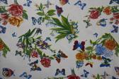 Atelier Du Baj Butterfly White Tafelzeil - 250 x 120 cm