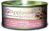 Applaws cat blik senior tuna / salmon 24 x 70 gr