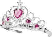 Hartprinses diadeem voor meisjes - Verkleedattribuut