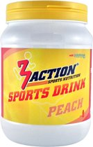 3action Sportdrank Peach 500 Gram