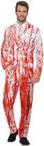 Bloederige smoking kostuum voor heren 56-58 (XL) - Halloween kleding
