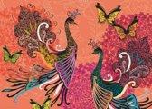 Puzzel peacocks+butterflies 1000 Heye 29821