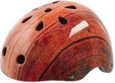 Ventura Freestyle Bmx Helm Houtprint Maat L (58-61 Cm)
