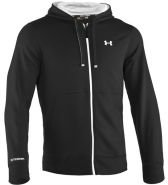Under Armour STORM RIVAL Sweatvesten black/white/white