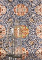 Wallpaper Queen mozaïek patroon