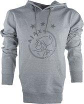 Ajax hooded sweater kinderen - grijs - maat 116