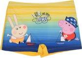 Gele zwembroek van Peppa George maat 128