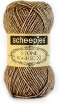 Scheepjes Stone washed XL Boulder Opal 844. PAK MET 9 BOLLEN a 50 GRAM. KL.NUM. 14614.