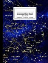 Composition Book Star Chart Wide Ruled