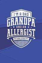 I'm A Dad Grandpa & An Allergist Nothing Scares Me