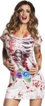 Stk Fotorealistisches Kleid Horror bride (M)
