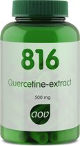 AOV 816 Quercetine Extract Voedingssupplement - 60 Capsules