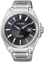 Citizen BM6930-57E Super Titanium horloge - 42 mm - Zilverkleurig / Zwart - Solar uurwerk