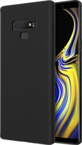 Huawei P20 Lite zwart siliconen hoesje – TPU silicone - matte zwart