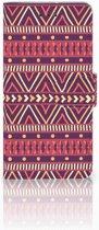 Motorola Moto G7 Play Uniek Boekhoesje Aztec Purple
