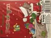 Kerstkaarten 14 stuks 15 x 10,5 cm beren kerst kaarten