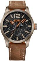 Hugo Boss Orange HO1513240 horloge heren - bruin - edelstaal PVD brons