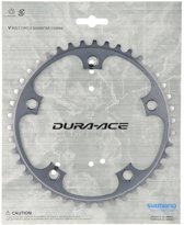 Shimano Kettingblad Dura Ace 39t 10sp 130 Mm Zilver