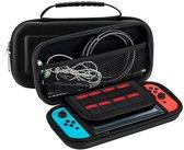 Nintendo Switch Case - Opberghoes Game Console Nintendo - Stevige Beschermhoes - Zwart
