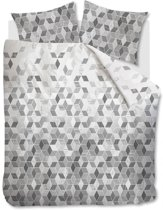 Beddinghouse Scalene - Dekbedovertrek - Lits-jumeaux - 240x200/220 cm - Zwart