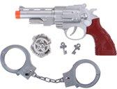 Free And Easy Speelset Politie Zilver 4-delig