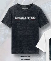 Uncharted - The Lost Legacy Logo Men T-Shirt - Heather Anthracite - XXL
