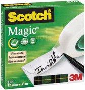 18x Scotch plakband Magic  Tape 12mmx33 m