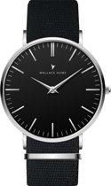 Wallace Hume Zwart - Horloge - NATO - Zwart