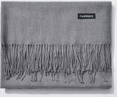 Premium Dark Grey Cashmere Scarf - Sjaal Donker Grijs - Shawl - Kasjmir omslagdoek