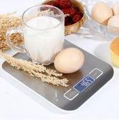 MaxVision's Digitale Precisie Keukenweegschaal//Tot 5000 kg (5 kg)//Op De Gram Nauwkeurig