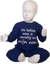 Fun2Wear Pyjama De liefste Oom is toevallig wel mijn oom Kobalt maat 116