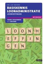 Basiskennis loonadministratie, loonheffingen 2017/2018 Theorie-/opgavenboek