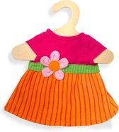 Heless Poppenkleding Jurk Maya Roze/oranje 35-45 Cm