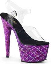 ADORE-708MSLG (EU 38 = US 8) 7 Heel, 2 3/4 PF Ankle Strap Sandal