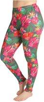 ZUMPREMA Exotic Flowers Sport Legging