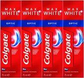 Colgate Max White One Optic Tandpasta 4x 75 ml