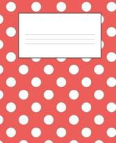 Red Composition Notebook: Primary Ruled Notebook Lined School Journal - 110 Pages - 7.5 x 9.25'' - Children Kids Girls Boys Teens Women Wide Rule