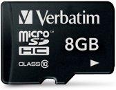 Verbatim SD kaart 8GB