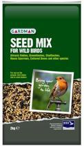 Gardman Zaadmix Voor Wilde Vogels - 2 kg - Vogelvoer