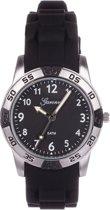 Garonne Kids KQ13Q419 - Horloge - 30 mm - Siliconen - Zwart