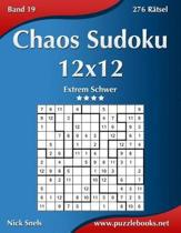 Chaos Sudoku 12x12 - Extrem Schwer - Band 19 - 276 Ratsel