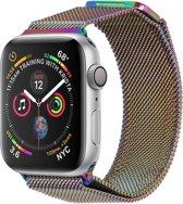 Milanese Design bandje voor de Apple Watch 44 mm / 42 mm - Multicolor