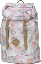 The Pack Society Premium Rugzak - Off White Petals
