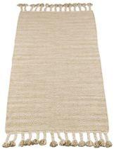 Kidsdepot vloerkleed Fringes Natural 70x140cm
