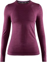 Craft Fuseknit Comfort Zip Thermoshirt Dames - Tune