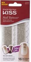 Kiss- Nail Tattoo waterdecals  NST02