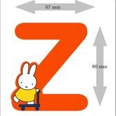 Nijntje houten letter ''Z''