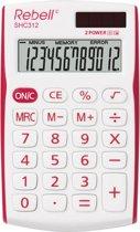 Rebell SHC312 - Bureaurekenmachine / Rood