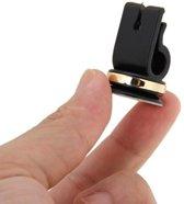 Mini magneet houder voor ventilatierooster in de auto. Onopvallende magnetische autohouder voor aan het luchtrooster van uw dashboard.